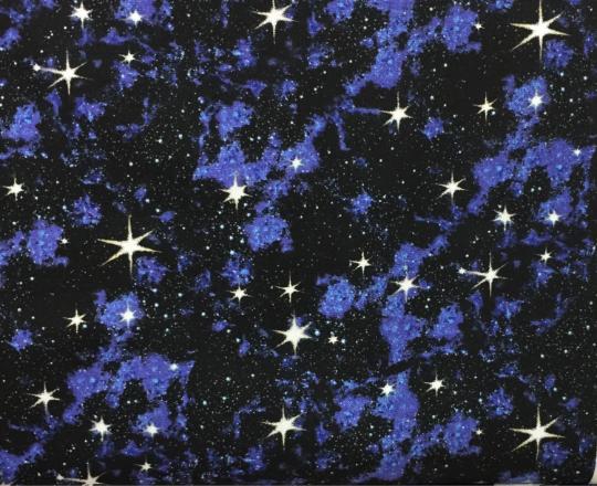 Space - Galaxy - Blue