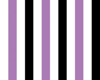 Lavender/White/Black Stripe