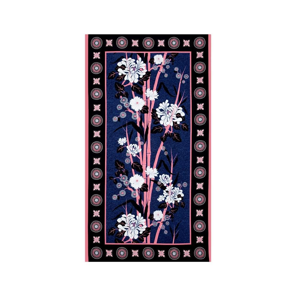 Water Lily - Blue/Pink 24 Panel