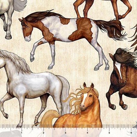 Mustangs - Cream