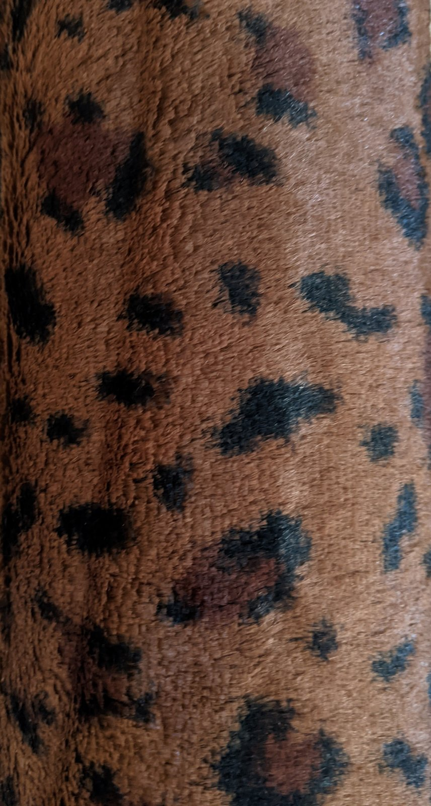 Dark Brown Leopard Print Softee