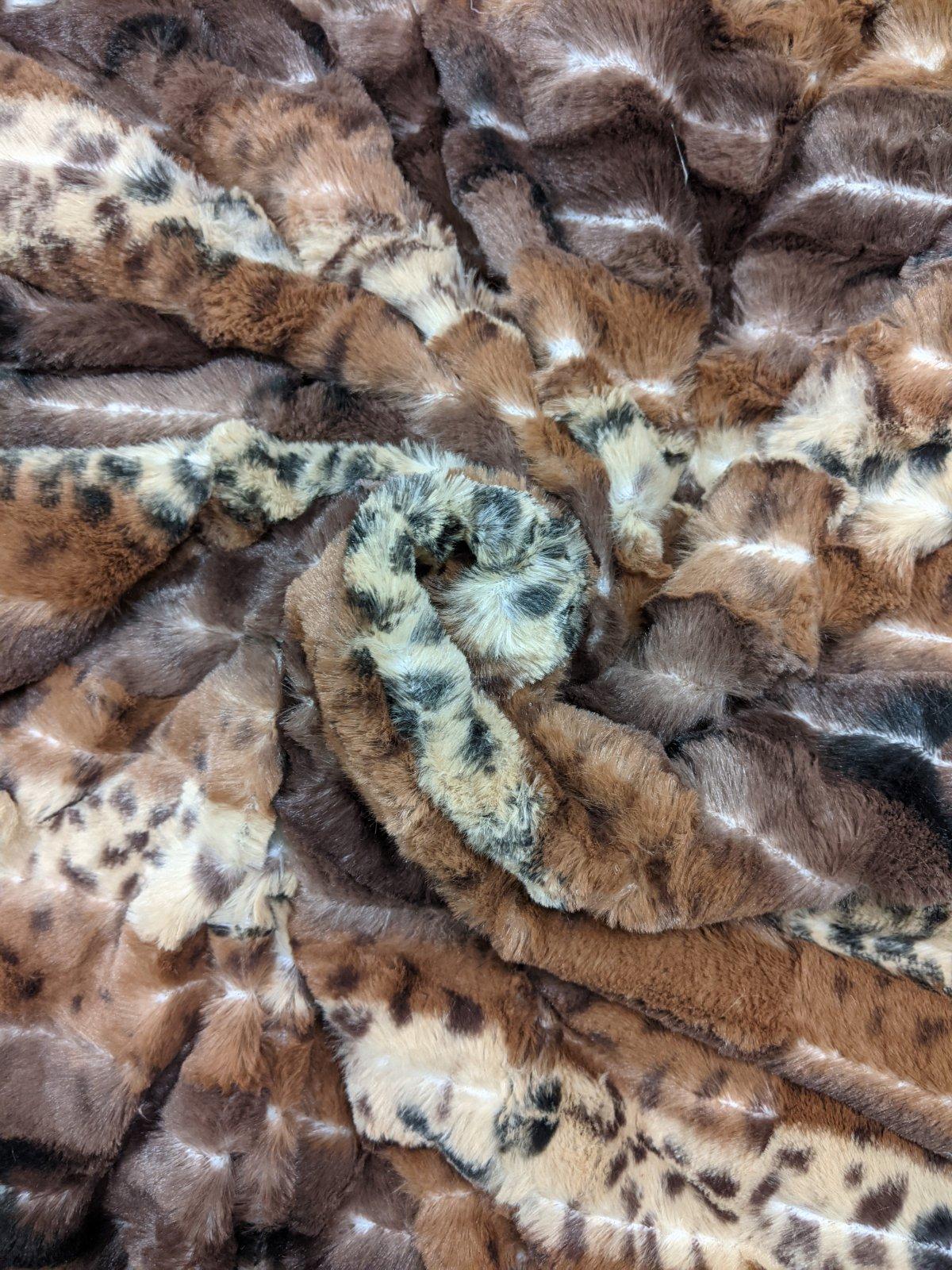 Brown Cheetah Stripe Softee