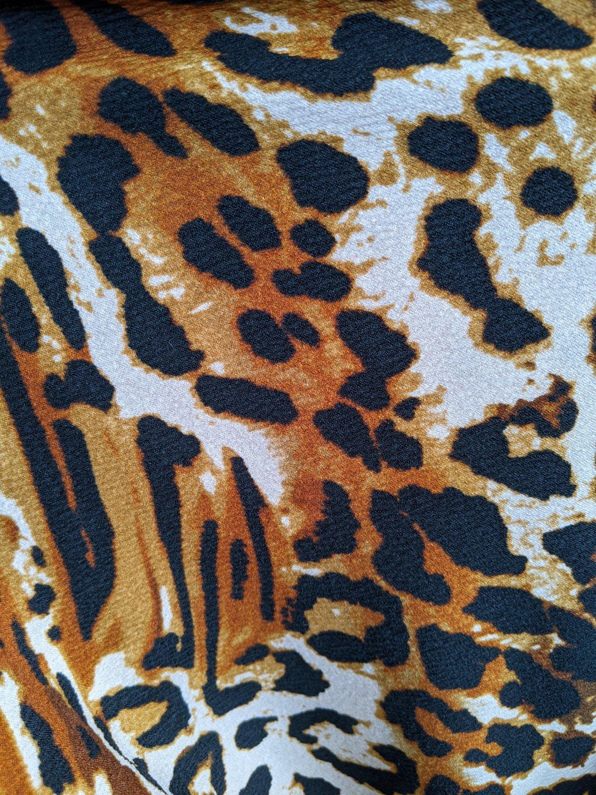 Liverpool Kalahari Amber Animal Print
