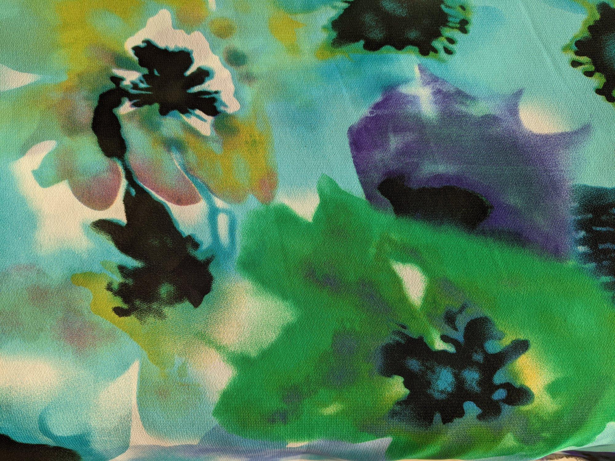 Chiffon Glory Lagoon Floral
