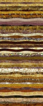 Hoffman Waves Gold Ochre