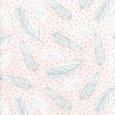 Clarabelle - Feather victoria/silver
