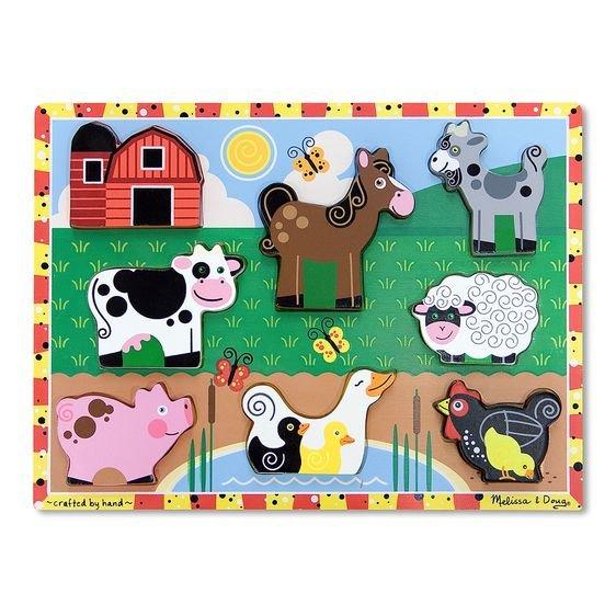 Farm Chunky Puzzle M&D