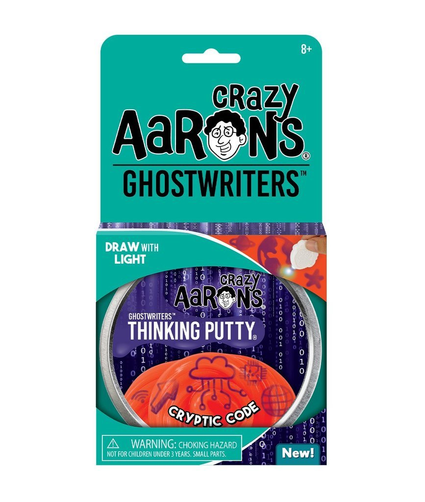 Cryptic Code Crazy Aaron's Thinking Putty