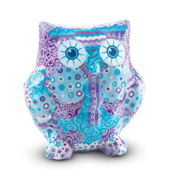 Decoupage Owl Craft Set  ages 6 plus