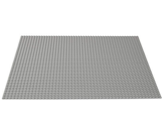 LEGO Large Gray Building Baseplate