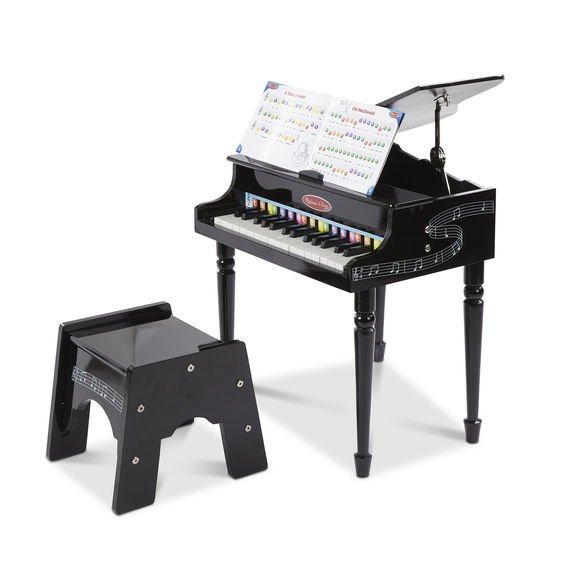 Baby Grand Piano Black by Melissa & Doug
