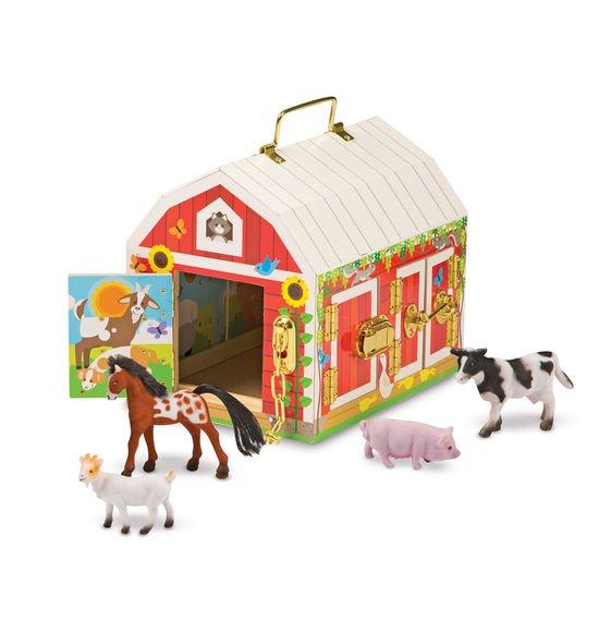 Wooden Latches Barn Melissa & Doug