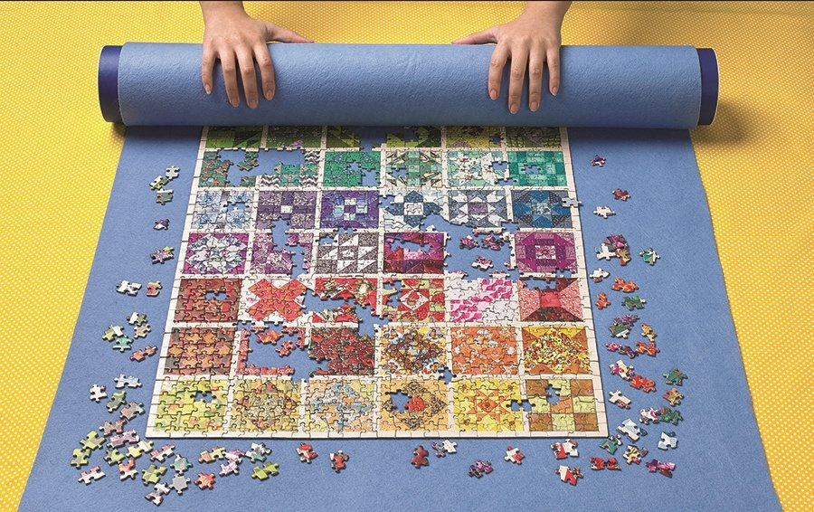 Puzzle Roll Away Mat Cobble Hill for 1000 piece puzzles