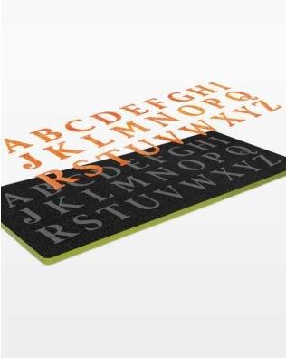 GO! Classic 2 Alphabet Uppercase Set Die
