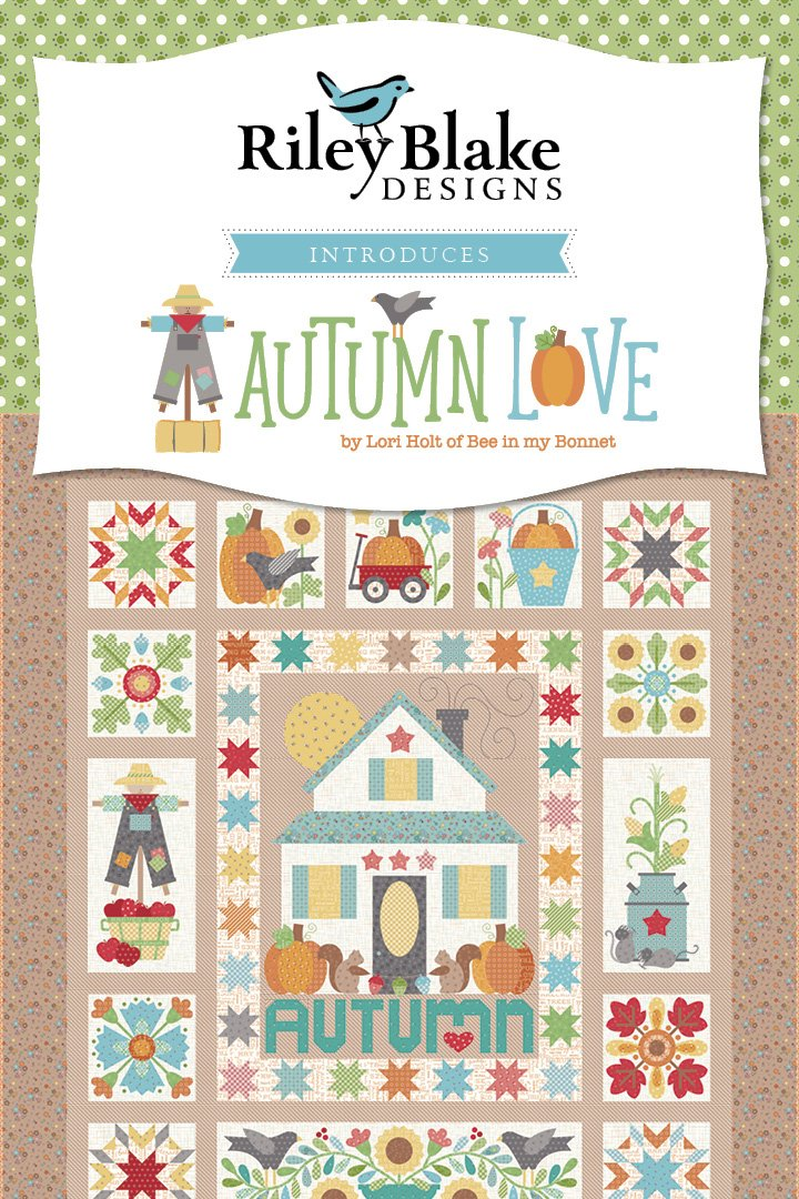 Autumn Love Sew Along Kit 74 x 84 - Lori Holt