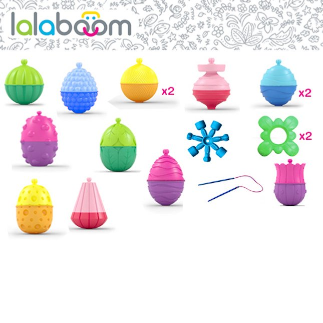 Lalaboom by Fat Brain Toys 30 PC Set