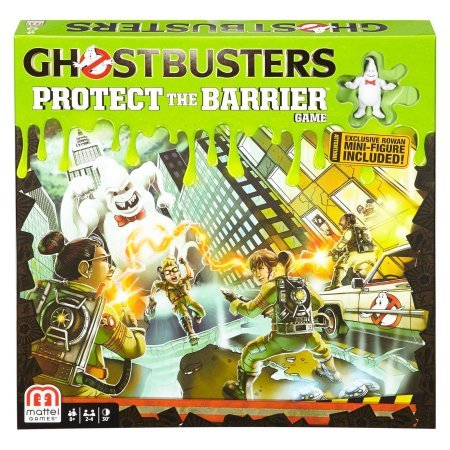 Ghostbusters Protect the Barrier