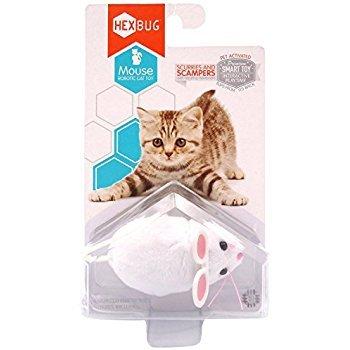 Hexbug Mouse cat toy White