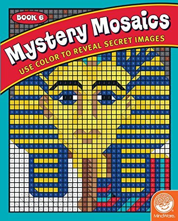 Mystery Mosaics: Book 6 - Color by Number