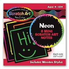 Neon Mini Scratch Notes by Melissa & Doug