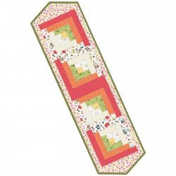 Make Yourself at Home Log Cabin Table Runner Kit  Finished size 13 x 45