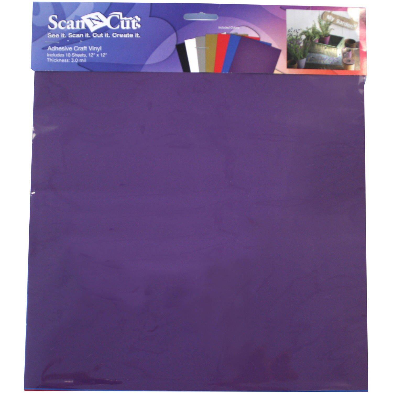 Brother Scan N Cut Adhesive Craft Vinyl 12 x 12