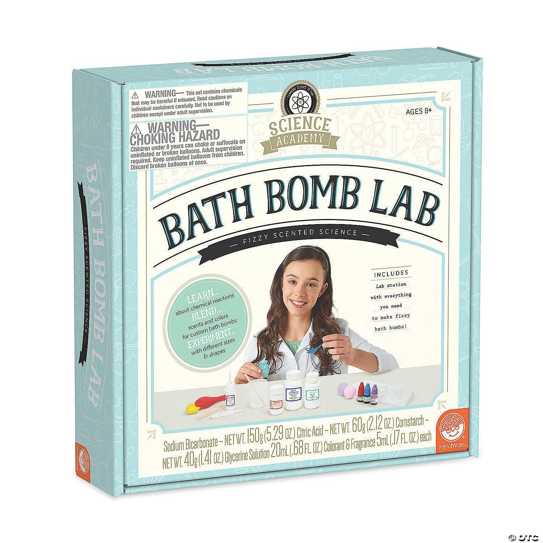 Science Academy: Bath Bomb Lab #13767272 Mindware