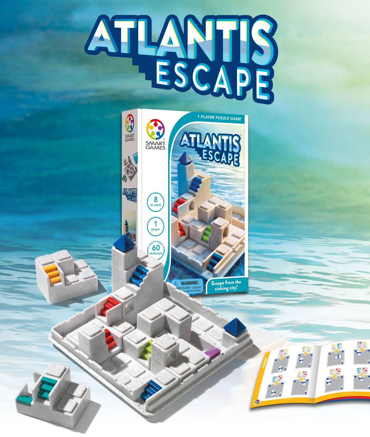 Atlantis Escape Smart Games Logic Puzzle