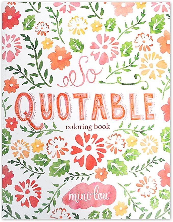 So Quoteable Coloring Book