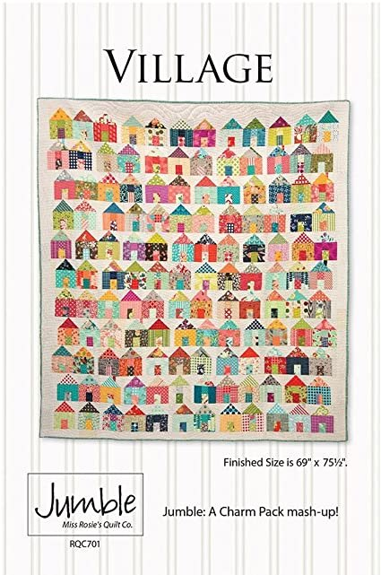 Free Village Pattern from Miss. Rosie's Quilt Company From Moda Fabrics