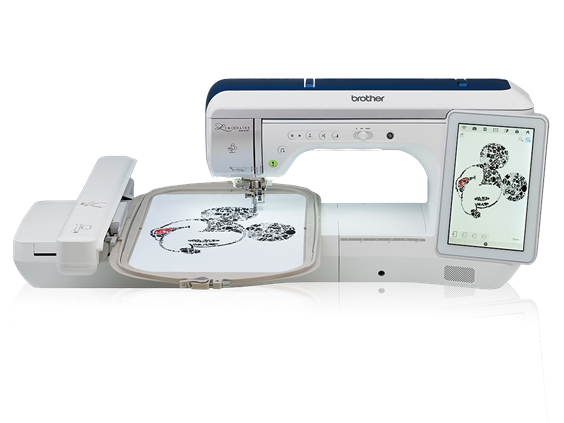 Brother Luminaire  XP1  Embroidery Machine w/thread bundle & Luggage