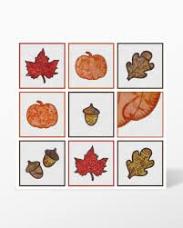 55041 Accuquilt Go! Fall Medley CD Embroidery Designs