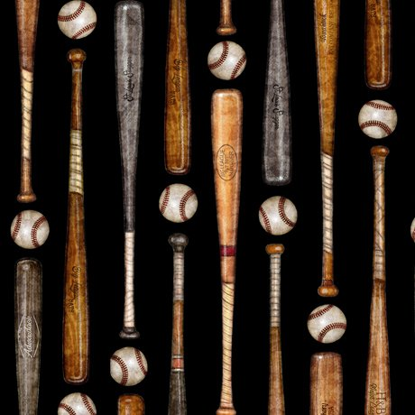 Grand Slam Bats on Black