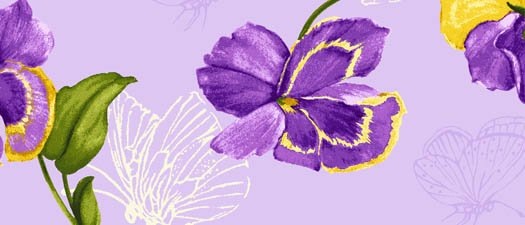 PANSY LARGE FLORAL