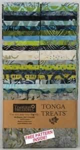 2-1/12in Strips TONGA TREAT TOPAZ