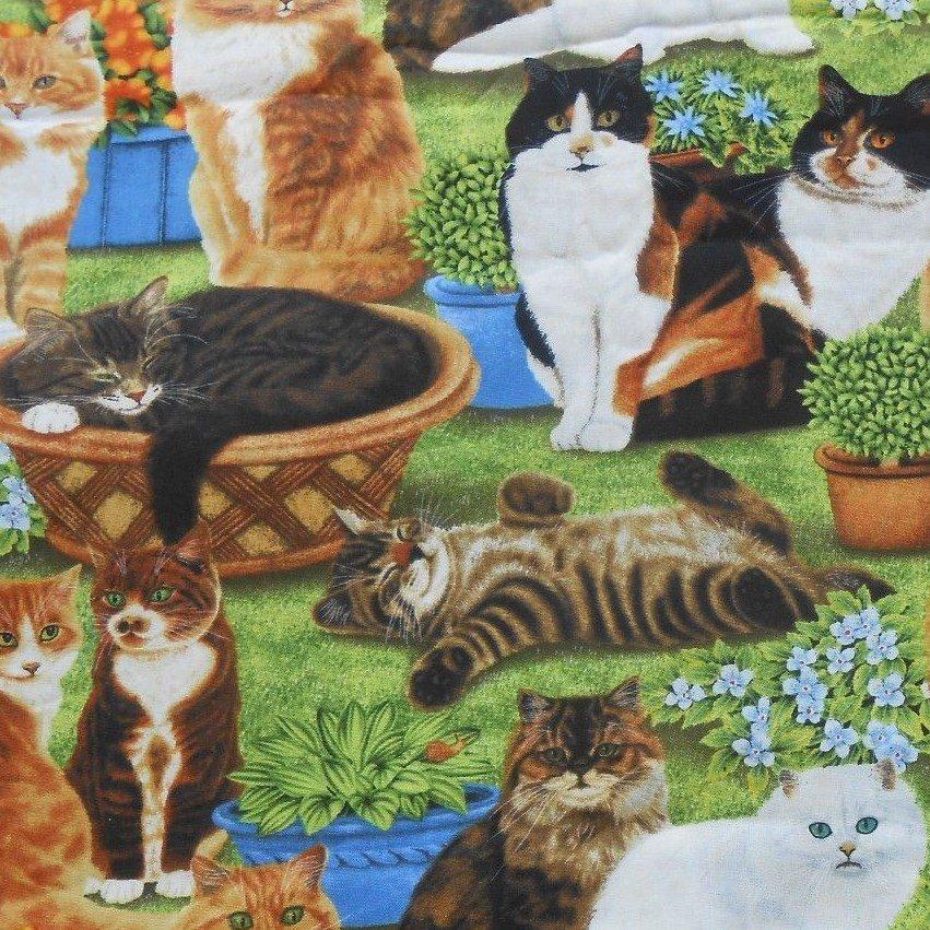 Feline Fine Cats Scene