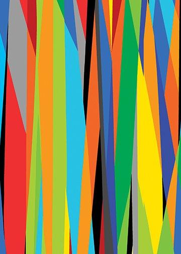 Marker Stripe Multi 8171-99