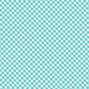 QUILT CAMP TEAL CHECK