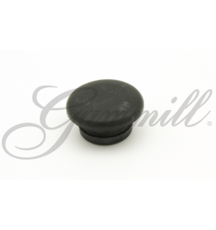 Inspection Plug - Black Rubber - Small