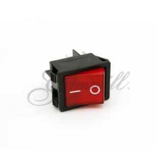 Switch - PNL Rocker - Red