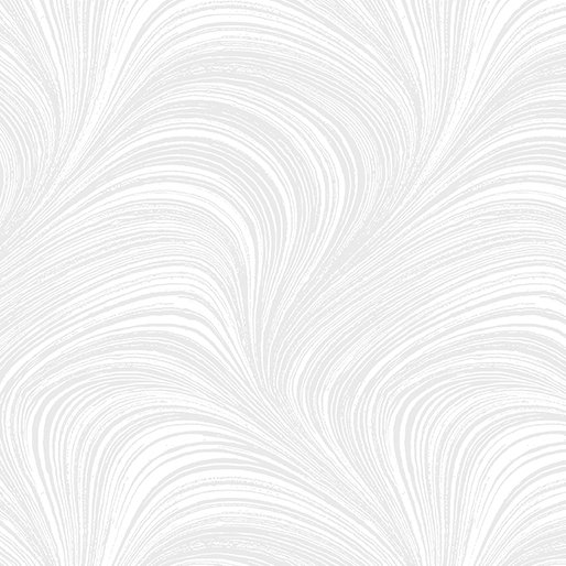 108 Wide Wave Texture - White