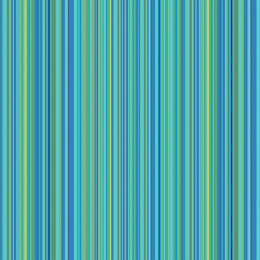 Multi Stripe - Aqua