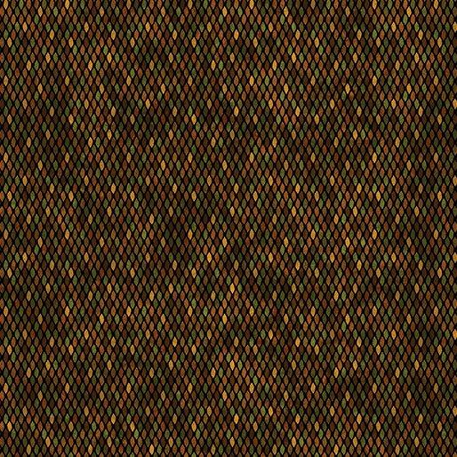 Beaded Texture - Brown/Multi