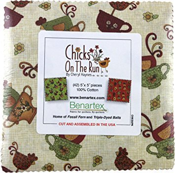 Chicks on the Run 5x5 Pack