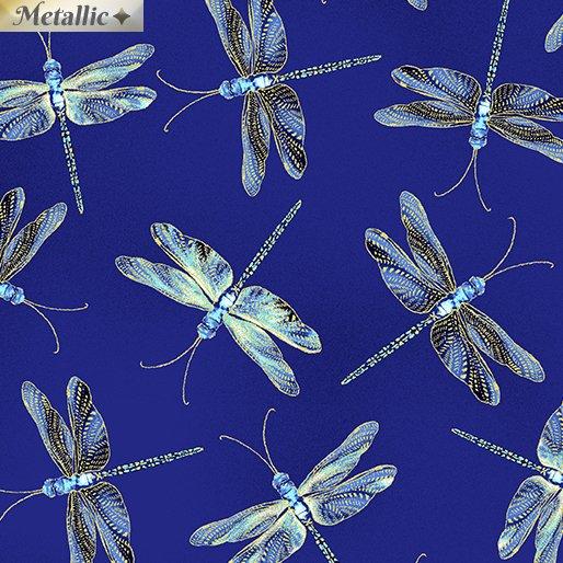 Moonlit Dragonflies - Royal