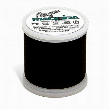 #1000 - Emerald Black - Rayon