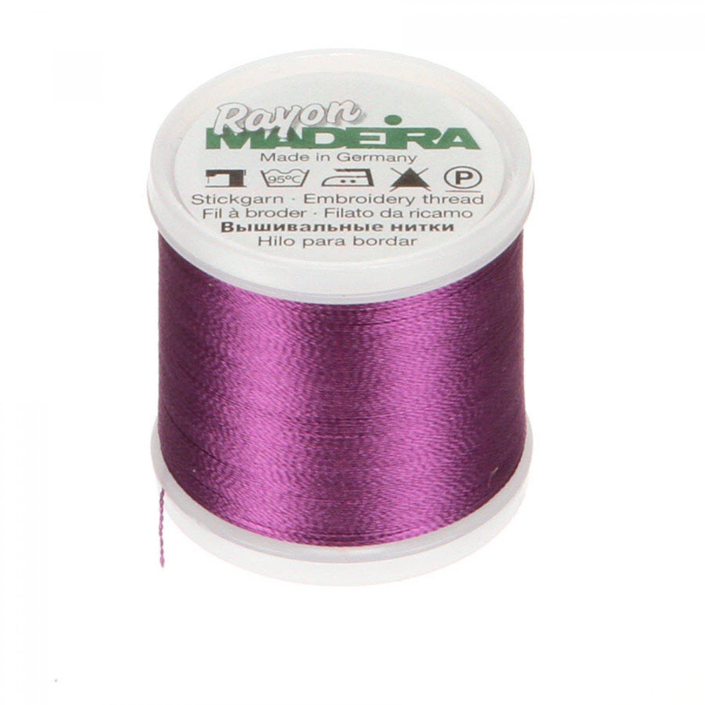 #1033 - Purple Pansy - Rayon