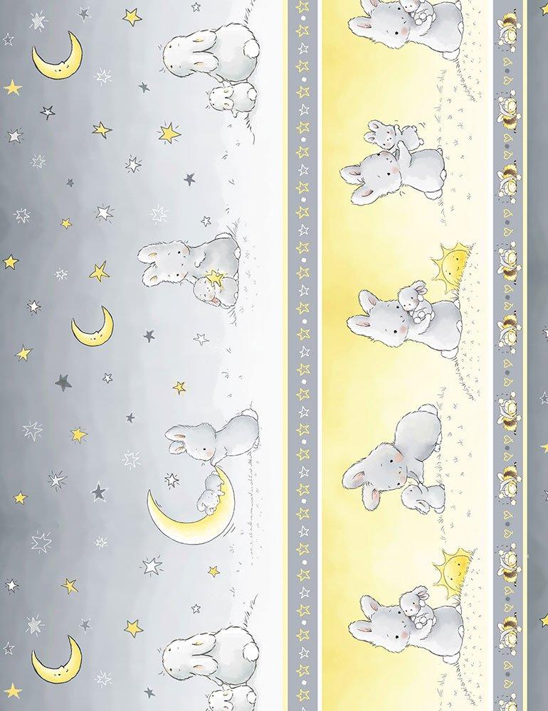 11 Bunny Stripe - Grey