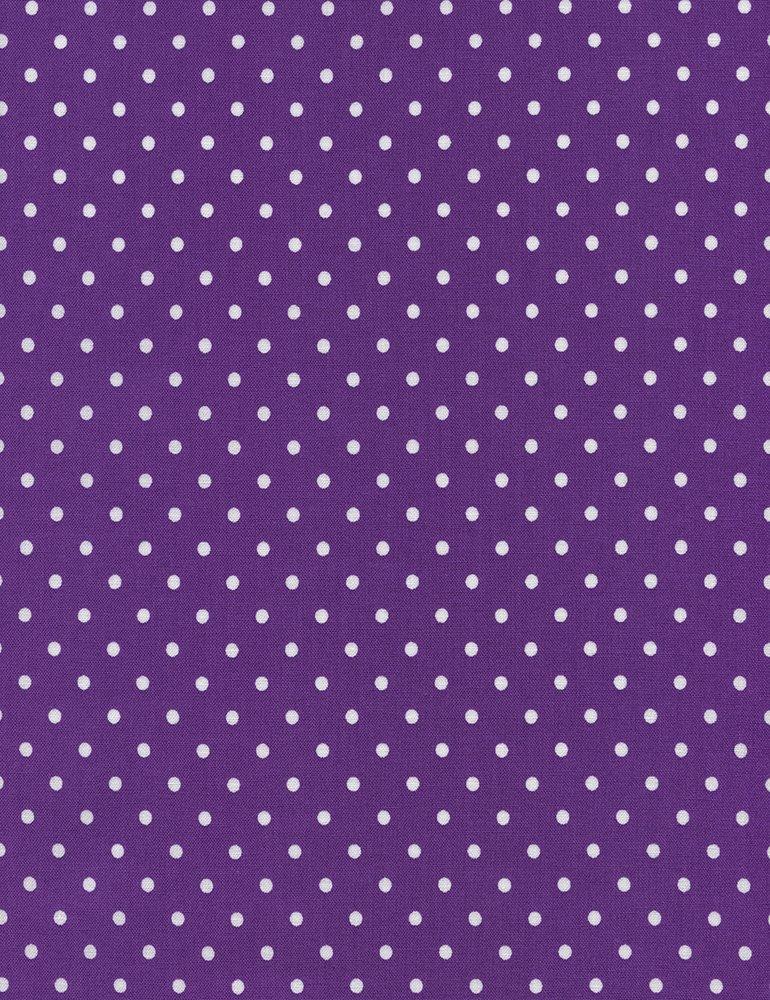 Dot Flannel - Purple