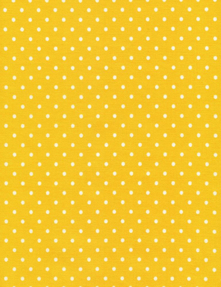Dot Flannel - Yellow